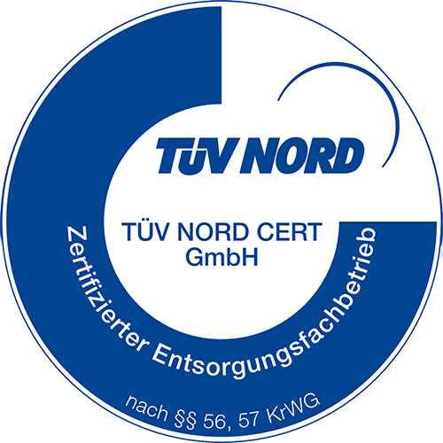 Zertifikat Zertifizierter Entsorgungsfachbetrieb
