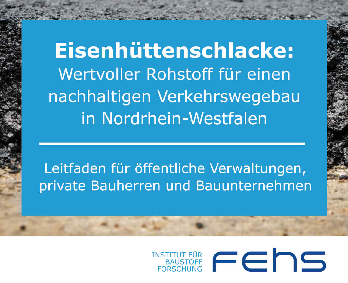 FEHS Eisenhüttenschlacke-Leitfaden